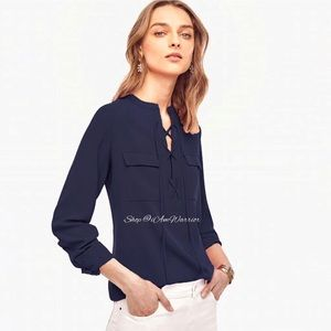 Ann Taylor NWT lace up tunic